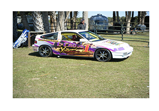 Race Car Wrap designed by Custom Graphics and Signs