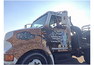 Truck wrap by Custom Graphics and Signs, Florida